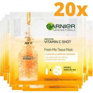 Set Black Friday 20x Masca servetel Fresh-Mix cu vitamina C pentru luminozitate - 33 g [0]