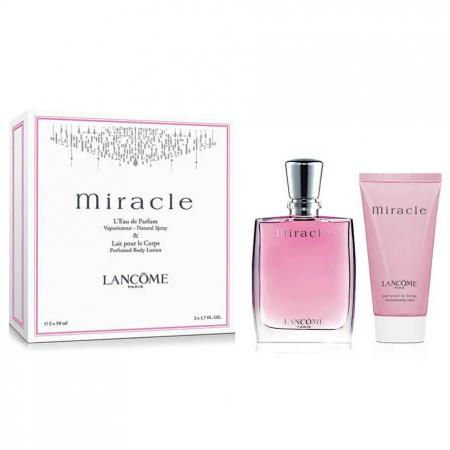 Set CADOU Lancome, Miracle parfum 50 ml + Body Lotion Lotiune de Corp 50 ml [0]