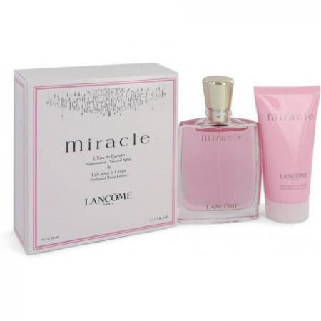 Set CADOU Lancome, Miracle parfum 50 ml + Body Lotion Lotiune de Corp 50 ml [1]