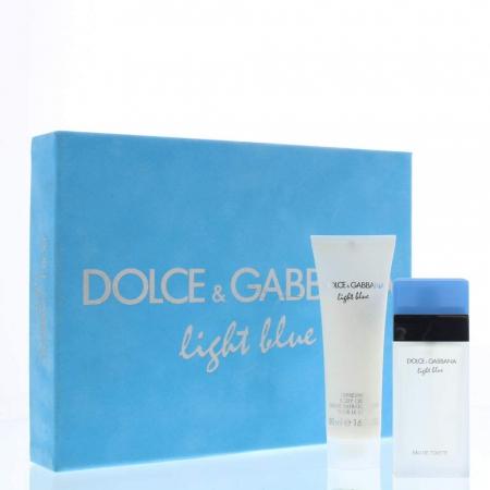 Set CADOU Light Blue, femei: apa de toaleta 25 ml + Crema de corp 50 ml [0]