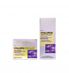Set L'Oreal Paris Crema de zi Hyaluron Specialist, 50 ml + Crema de ochi Hyaluron Specialist, 15 ml [0]