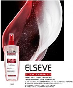 Spray bifazic pentru par deteriorat, Elseve Total Repair 5, 200 ml [1]