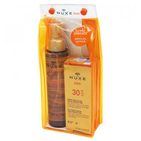 Sun, Set: Crema pentru fata SPF 30 + Crema pentru corp 150 ML [0]