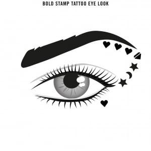 Tus tip stampila Rimmel INK ME, 001 BLACK/HEART, 0.8 ml6