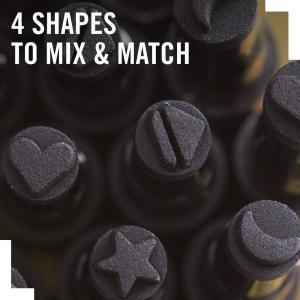 Tus tip stampila Rimmel INK ME, 001 BLACK/HEART, 0.8 ml5