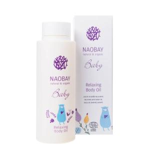 Ulei de corp BIO relaxant pentru copii Naobay 200 ml1