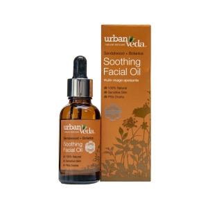 Ulei facial cu extract de lemn de santal organic   ten sensibil Soothing   Urban Veda 30 ml1