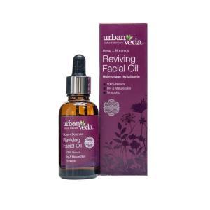 Ulei facial cu ulei de trandafir de Damasc organic   ten matur Reviving   Urban Veda 30 ml [1]