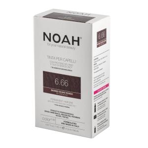 Vopsea de par naturalaBlond roscat inchis 6.66 Noah 140 ml [2]