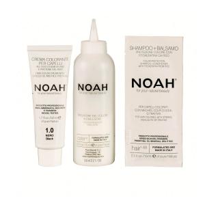 Vopsea de par naturala Negru 1.0 Noah 140 ml1
