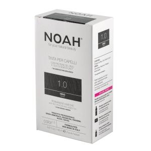 Vopsea de par naturala Negru 1.0 Noah 140 ml2