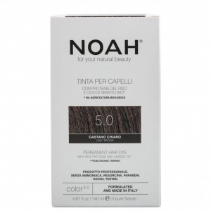 Vopsea de par naturala Saten deschis 5.0 Noah 140 ml0