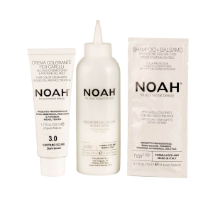 Vopsea de par naturalaSaten inchis 3.0 Noah 140 ml [2]