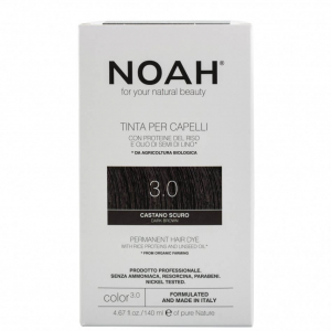 Vopsea de par naturalaSaten inchis 3.0 Noah 140 ml [0]