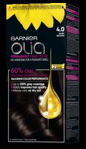 Vopsea de par semi permanenta Garnier Olia, fara amoniac0