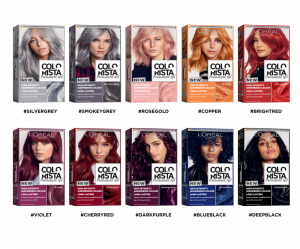Vopsea gel permanenta Colorista 204 ml, nuanta  DEEP BLACK8