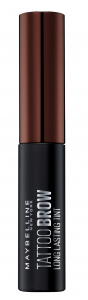 Vopsea gel semipermanenta pentru sprancene Maybelline Brow Tattoo, Dark Brown1