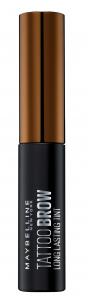Vopsea gel semipermanenta pentru sprancene Maybelline Brow Tattoo, Dark Brown [1]