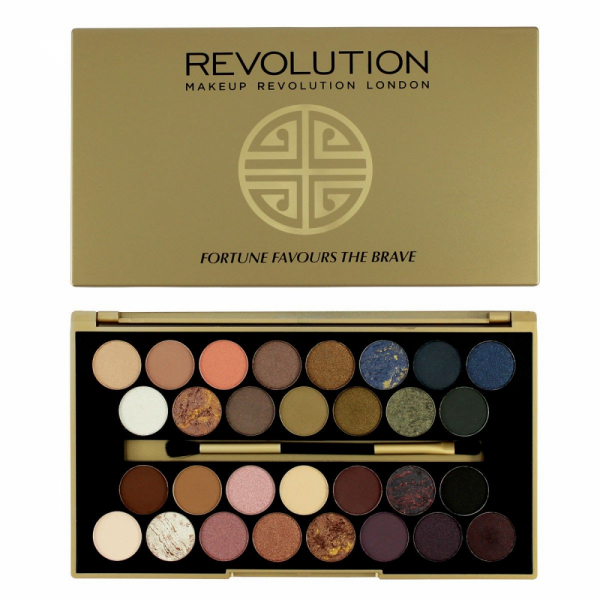Paleta Revolution BBB- Fortune Favour The Brave 0