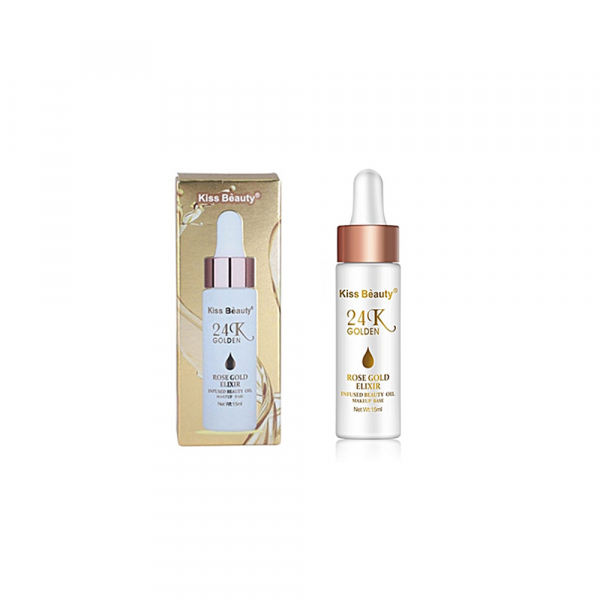 Baza De Machiaj Kiss Beauty 24k Rose Gold Elixir 0
