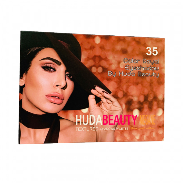 Trusa Farduri Huda Beauty Megane Rose Gold Edition 1