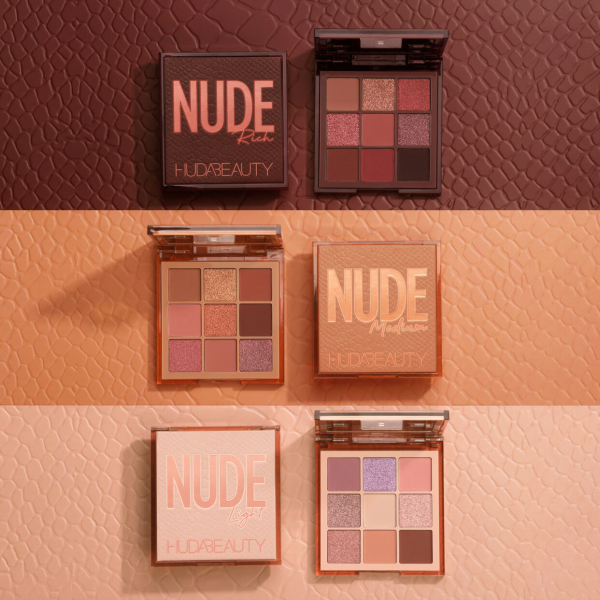 Paleta Huda Beauty Nude Obsession-Light 3