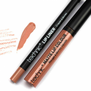 Lip Kit Creion + Ruj  Lichid Technic - Barely There1