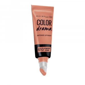 Gloss Maybelline Color Drama Intense Lip Paint - 610 Stripped Down, 6.4 ml Nude0