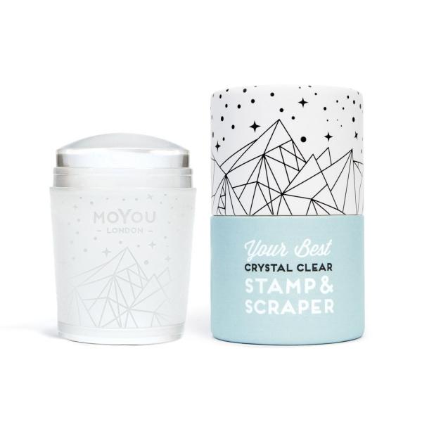 MoYou Crystal Clear Stamper & Scraper 0