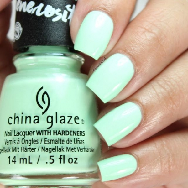 China Glaze Cutie Mark the Spot 1