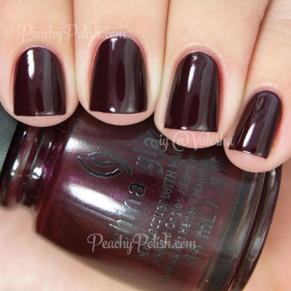 China Glaze Conduct Yourself 1
