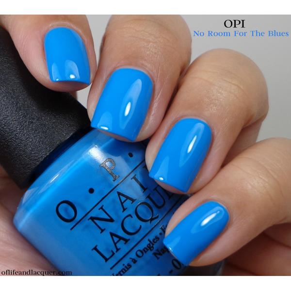 OPI No Room for the Blues 1