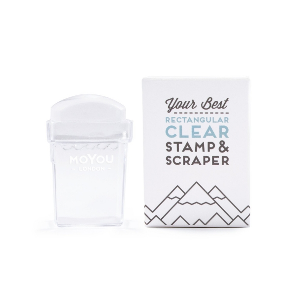MoYou Rectangular Clear Stamper 0