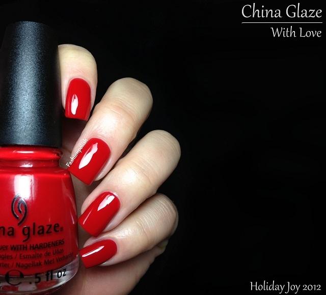China Glaze With love 1