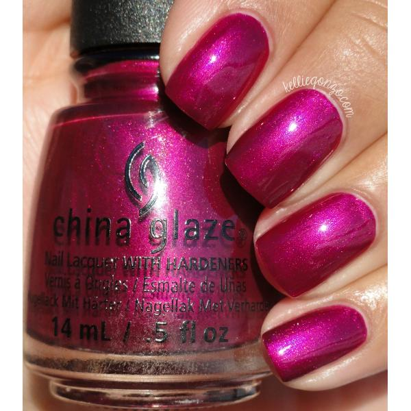China Glaze Better Not Pout 1
