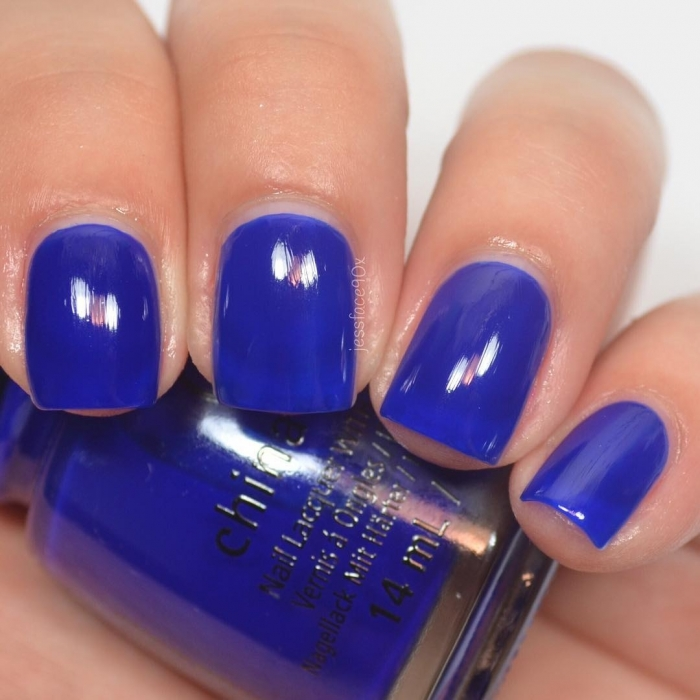 China Glaze Simply Fa-Blue-Less 1