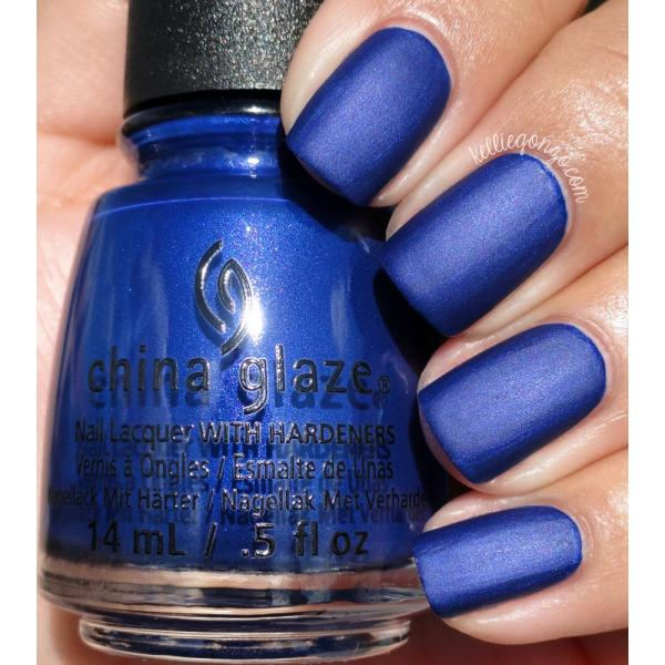 China Glaze Combat Blue-ts 1