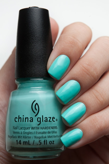 China Glaze Too Yacht to Handle 1