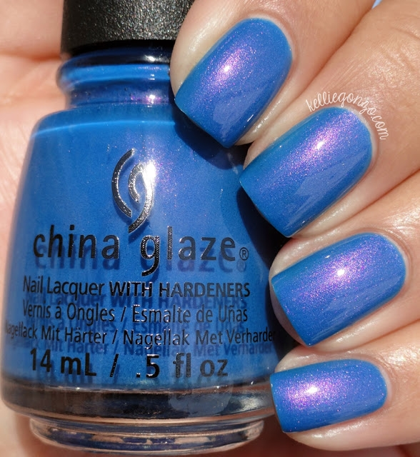 China Glaze Come Rain or Shine 1