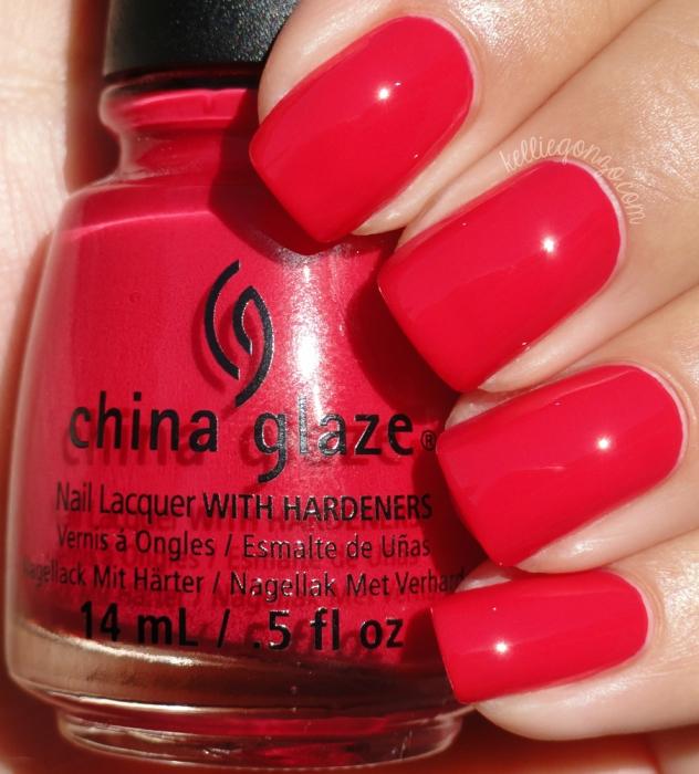 China Glaze Seas the Day 1