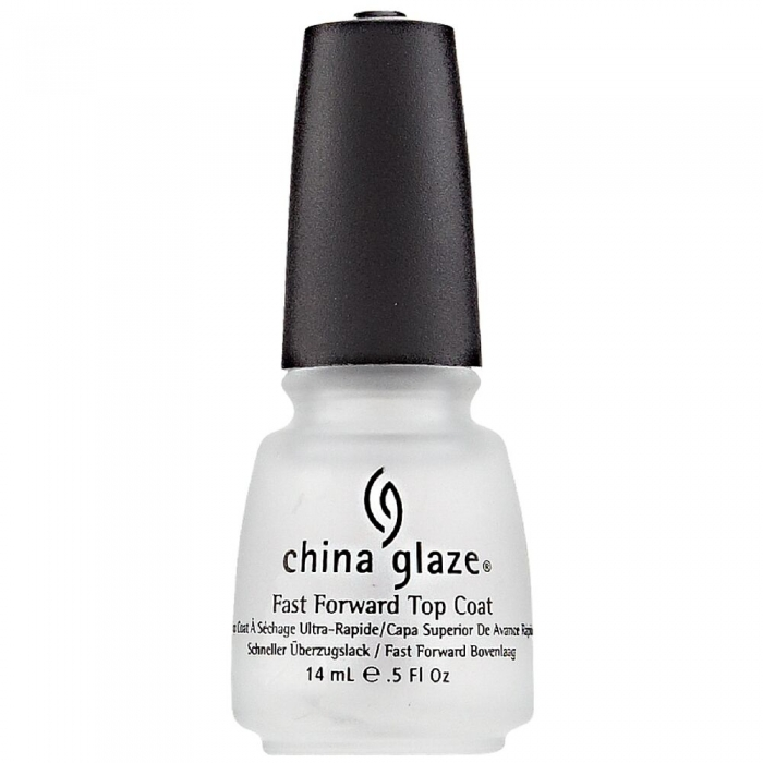 China Glaze Fast Forward Top Coat 0