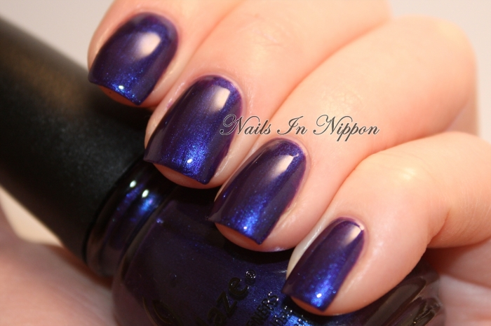 China Glaze Bizarre Blurple 1