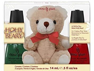 China Glaze Holly Bear-y 0