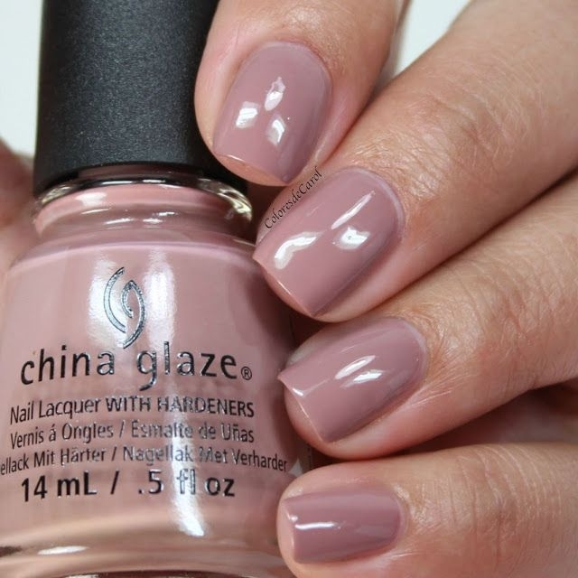 China Glaze My Lodge or Yours? + Better Not Pout 1