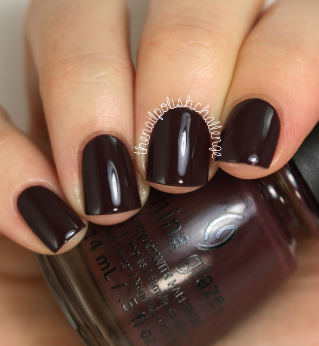 China Glaze What Are You A-freight Of? 1
