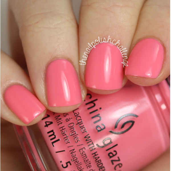 China Glaze Pinking Out the Window 1