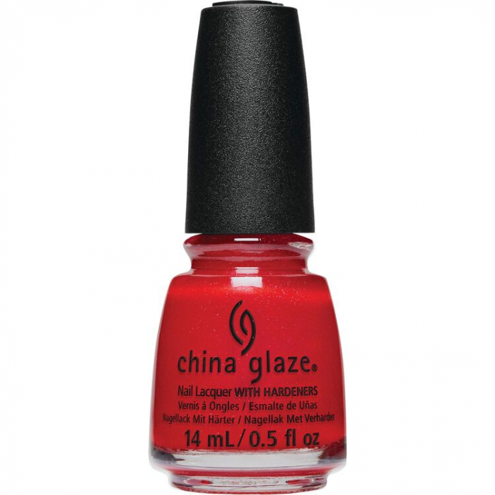 China Glaze Santa Monica Claus 0