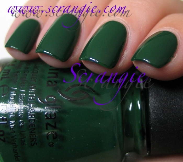 China Glaze Holly-Day + Ugly Sweater Party 1