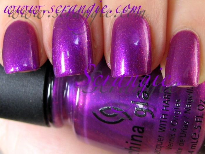 China Glaze Senorita Bonita 1