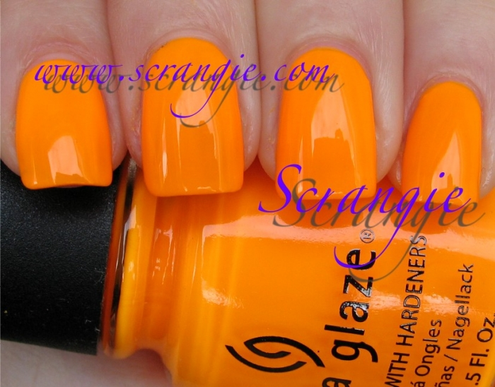 China Glaze Sun Worshiper 1